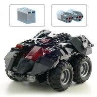 07111 DC Super Hero Series Batman App Controlled Batmobile with Motor Building Blocks Toys Compatible With Legoings batman