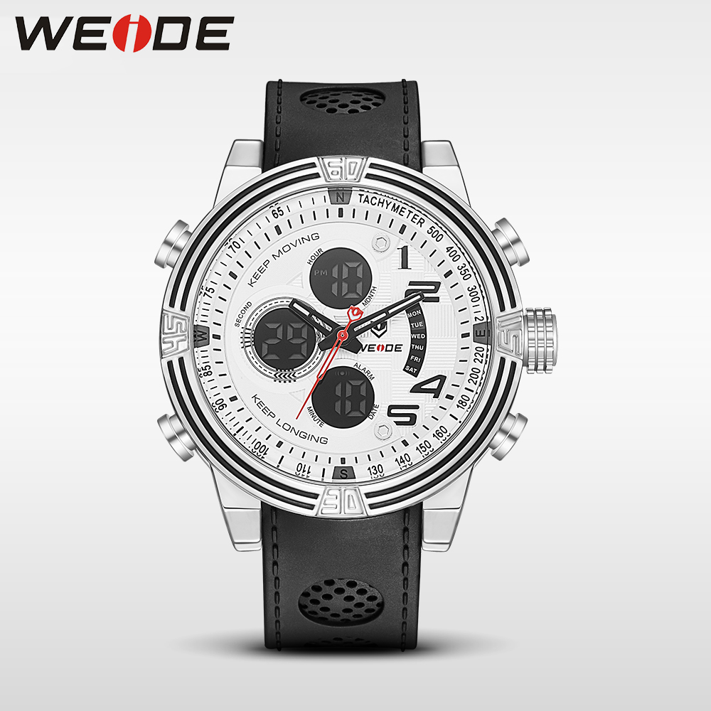 WEIDE New Men Quartz Casual Watch Army Military Sports Watch Waterproof Multiple Time Zone Alarm Men Watches alarm Clock camping weide 2017 new men quartz casual watch army military sports watch waterproof back light alarm men watches alarm clock berloques