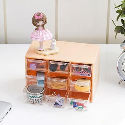 Bizhuteri e llojit sirtar me kuti katrore Transparenca modë që - Magazinimi dhe organizimi në shtëpi - Foto 3