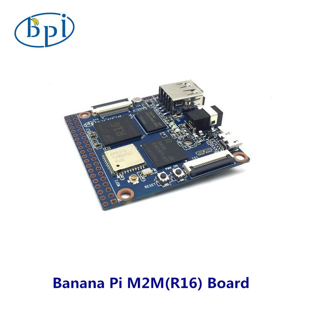 BPI M2 Magic Allwinner R16 chip design with quad-core A7 SoC and 512MB DDR3 RAM support WiFi (AP6212) & Bluetooth with 8G EMMC