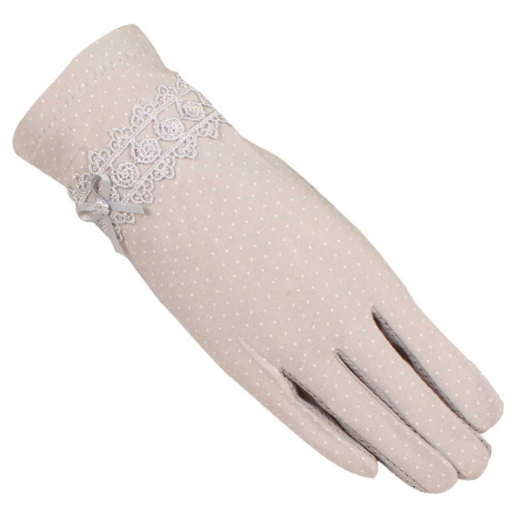 Driving gloves online shopping india - Mandy S Driving Gloves Antiskid Design Of Cool And Refreshing Ice Silk Can Touch Screen Short Ladies