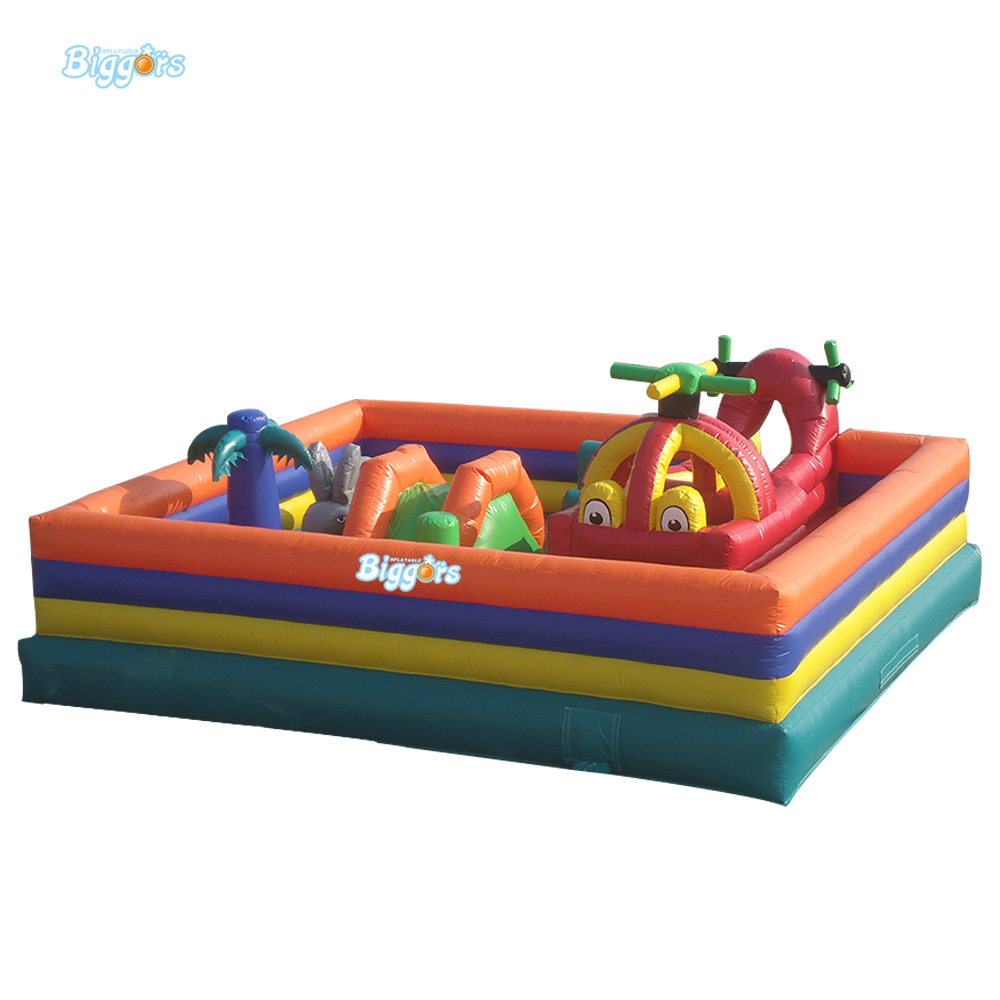 FREE SHIPPING BY SEA Factory Price Inflatable Fun City Jumping House Inflatable Trampoline For Sale ce iso under 6cm wide and length unlimited little fish killer machine with cfr price shipping by sea