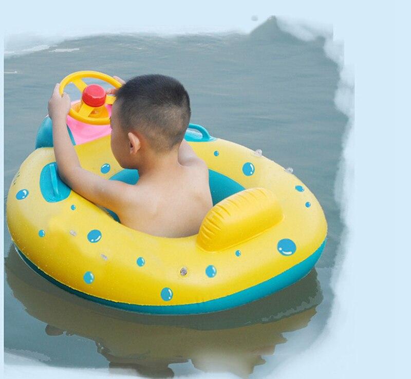 Baby Kids Summer Swimming Pool Swimming Ring Inflatable Swan Swim Float Water Fun Pool Toys Swim Ring Seat Boat Sport for 3-6Y (24)