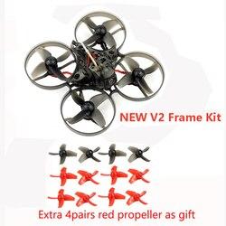 Mini Mobula 7 75mm Crazybee F4 Pro OSD 2S dwhoop FPV wyścigi Drone Quadcopter Upgrade BB2 ESC 700TVL BNF kompatybilny Frsky Flysky