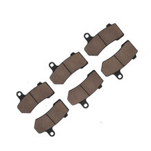 Motorcycle Front+Rear Brake Pads For Harley Touring Road King Electra Street Glide V-Rod  FLHR VRSCA/B Classic Ultral