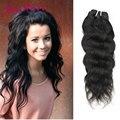 Malásia virgem cabelo natural onda 4 pçs/lote malaio natural onda sew em extensões de cabelo ms lula extensões de cabelo de crochê
