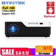 BYINTEK MOON K11 200 дюймов 1920×1080 1080 P Full HD LED видео проектор с HDMI USB для игры кино кинотеатр домашний кинотеатр