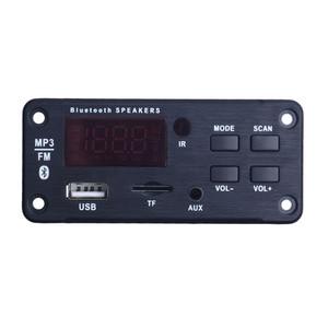 Image 2 - 最新のワイヤレス Bluetooth MP3 Wma デコーダボードオーディオモジュールサポート USB TF AUX FM オーディオラジオモジュール用