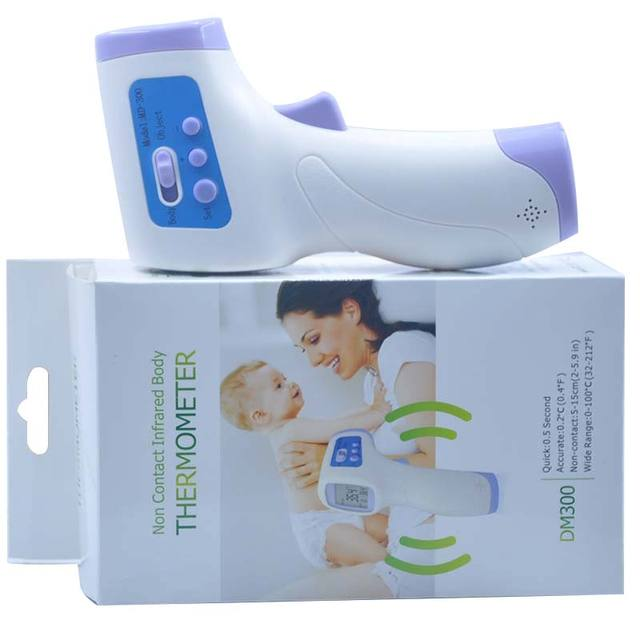 2017 Hot Sale Baby/Adult Digital Multi-Function Thermometer Non-contact Infrared Forehead Body Thermometer Gun