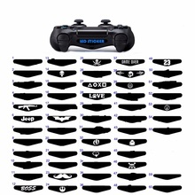 50 pcs Game Controller Light Bar Lightbar Decal Sticker For PS4 Playstation 4 Perfect Random Number