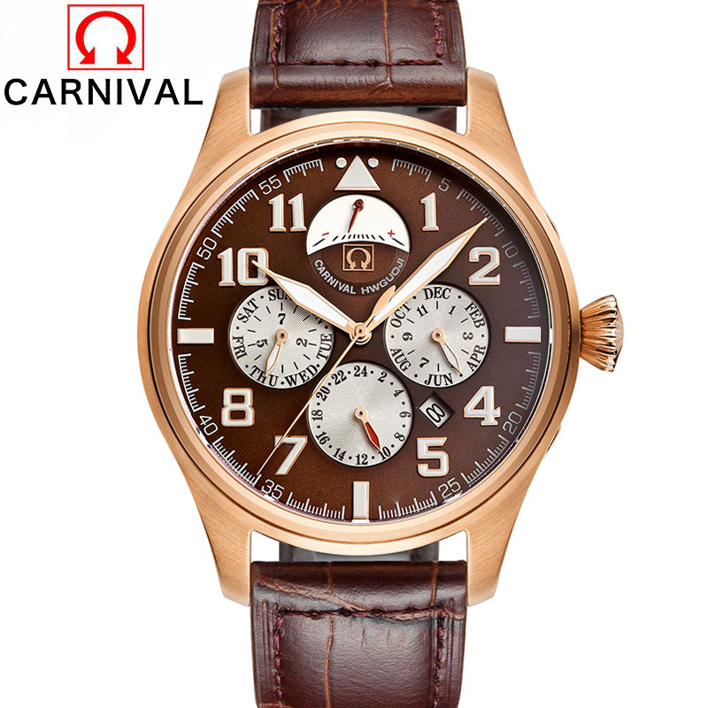 Waterproof Luminous Men Watch New Luxury Brand Fashion Watch  Automatic Mechanical Watches Calendar Leather Steel Clock  Relogio men luxury automatic mechanical watch fashion calendar waterproof watches men top brand stainless steel wristwatches clock gift