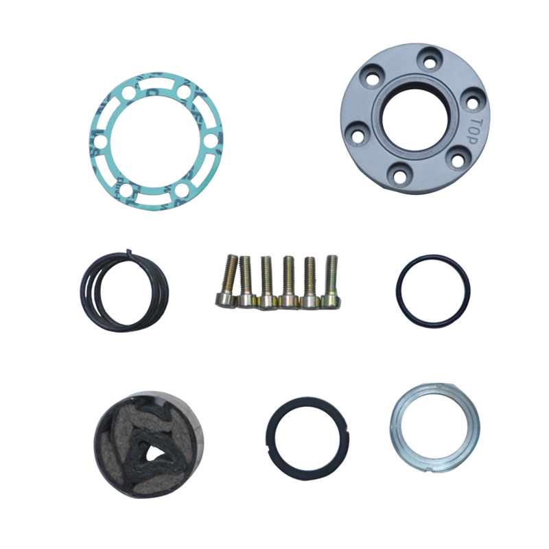 ФОТО High Quality Aircon Airconditioning Repair Spare Parts Compressor Oil Gasket Shaft Seal Set Kit for GEA BOCK FK40 FK50
