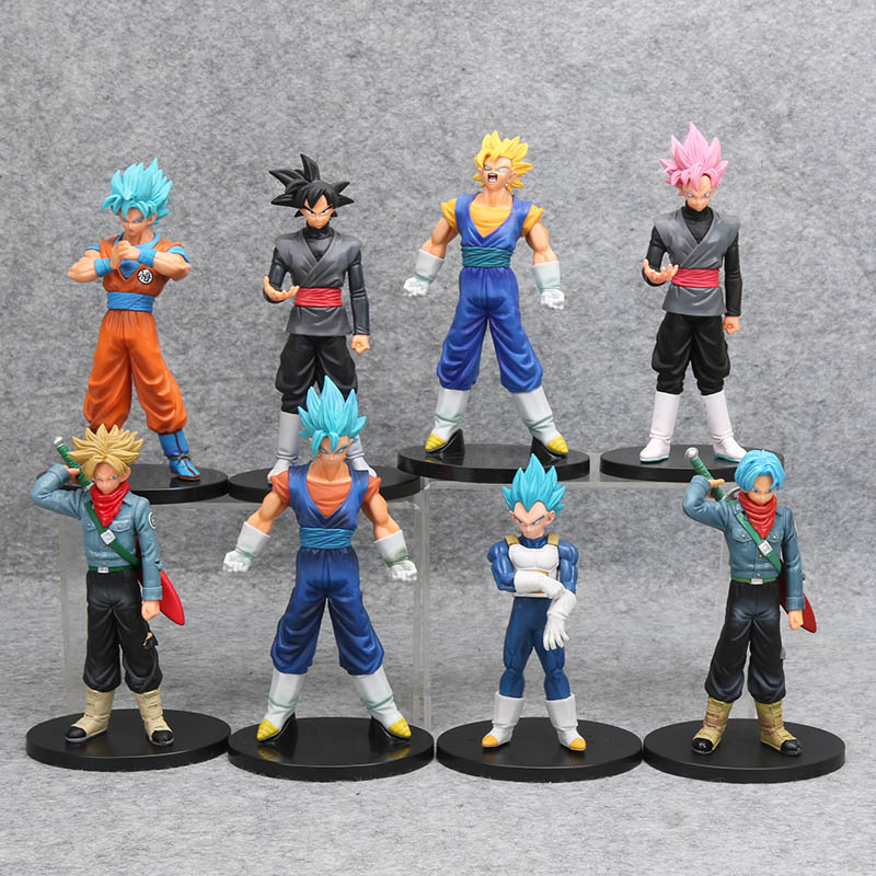 Dragon Ball Super DXF The Super Warriors Goku Black Vegito PVC Figure Model Toy