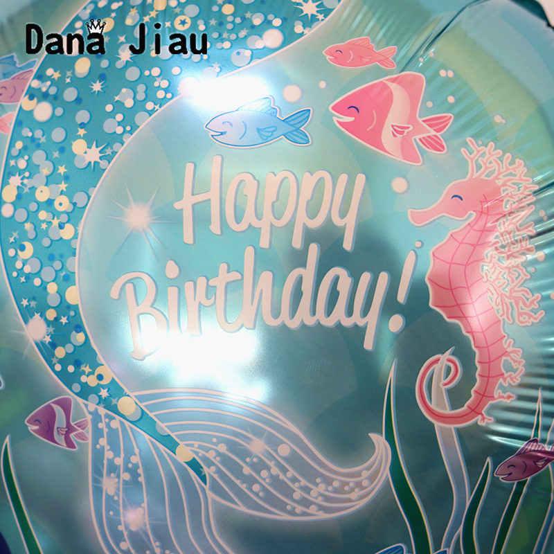 18 inch star paars eenhoorn happy Birthday Ballon vakantie Kasteel Aluminium Opblaasbare Bal kinderen speelgoed groothandel