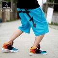 Free shipping Men's plus size clothing summer popular shorts hiphop print Elastic Waist short trousers Hip-Hop 6xl XL-7XL
