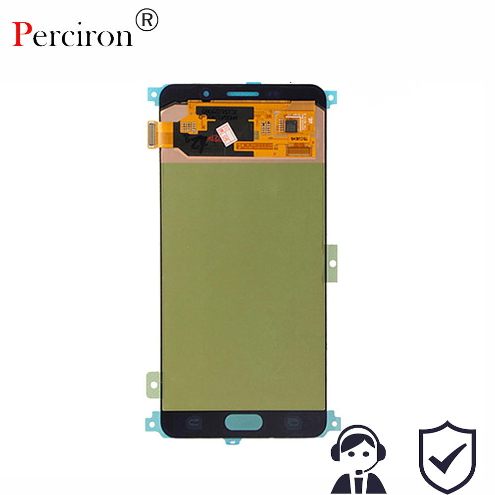 New For Samsung Galaxy A7 2016 A710 A7100 A710M A710F LCD Display with Touch Screen Digitizer Assembly Free Shipping brand new lcd display touch screen digitizer assembly for samsung i9023 free shipping 1pc lot