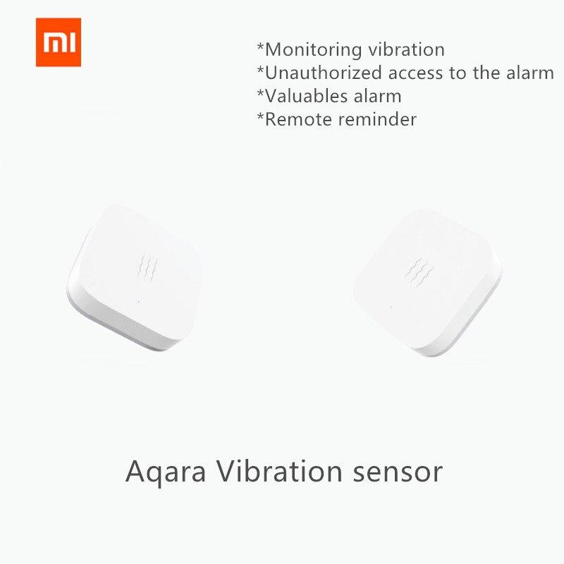 D'origine xiaomi mijia Aqara Vibaration capteur et Sommeil capteur Objets de Valeur de Surveillance d'alarme vibration choc travail avec mi maison App