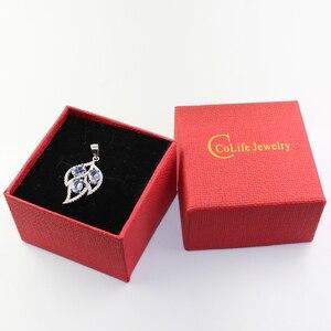 Image 5 - Pendentif de feuille en argent sterling 925, 3 pièces, 4*6mm, tanzanite naturelle, collier, pendentif en argent sterling, pour femmes