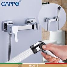 GAPPO Bidets toilet faucet muslim shower toilet sprayer bidet tap mixer toilet shower bidet hand chrome water save sauna mixer