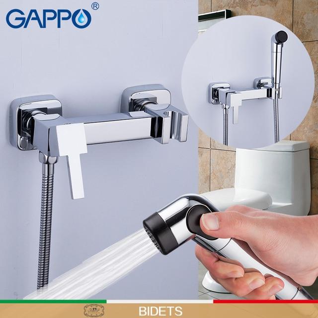 GAPPO bide tuvalet musluk müslüman duş tuvalet püskürtücü bide musluk bataryası tuvalet duş bide el krom su tasarrufu sauna karıştırıcı
