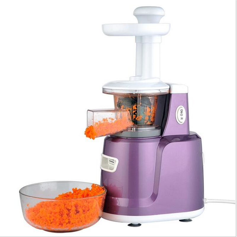 220V/150W Multifunction Low Speed Juicer Household Electric Slow Juicer Fruit Vegetable Citrus Juice Extractor 220v jyz e19 household orange slow juicer fruit vegetable low speed juicer electric stainless steel orange juicer