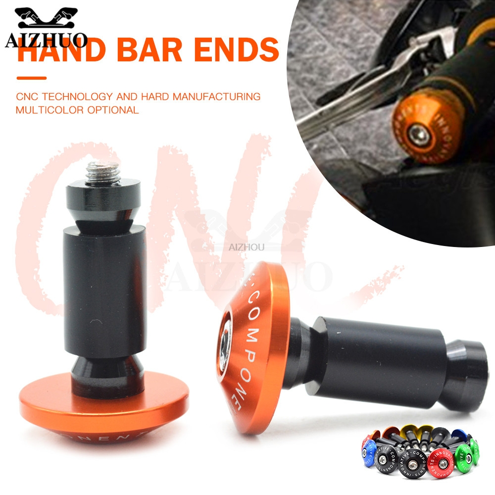 "Universal Motorcycle Hand Bar End 22mm 7/8"""" Handle Grips End Caps For honda CBR 1000 RR 1000RR CBR1000RR Cbr 600 yzf r3 MT07"