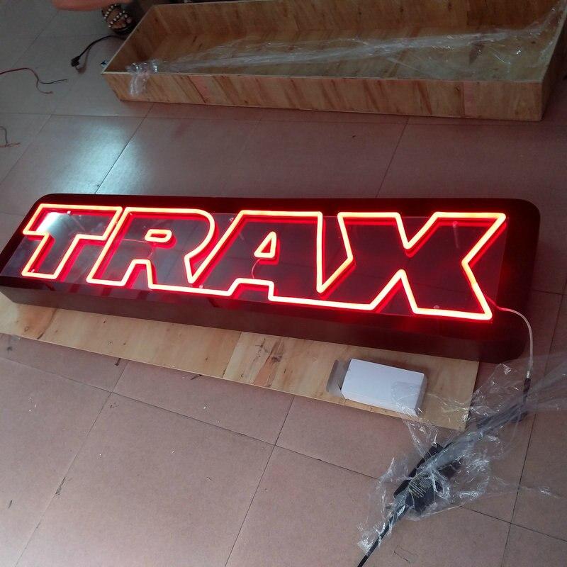 Personalizzato nome del negozio della flessione al neon del led bordo del segno