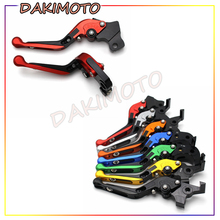 цена на for HONDA CBR650F/CB650F 2014-2016 with logo CNC Motorcycle Accessories Foldable Extending Brake Clutch Levers
