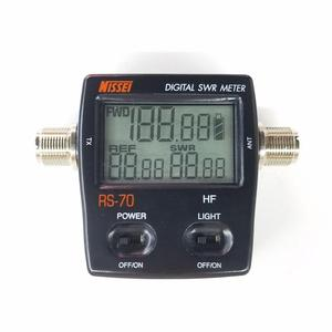 Image 2 - NISSEI RS 70 Digital SWR Power Counter 1.6 60MHz 200W M Type Connector