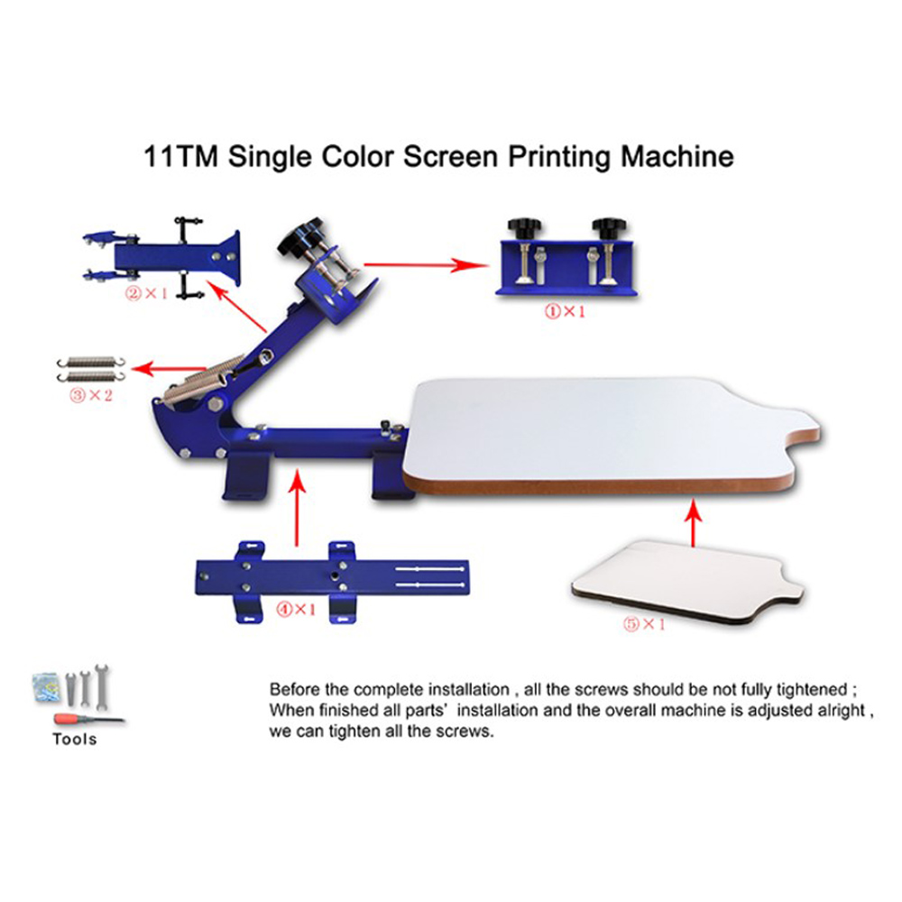 Factory Pirce Silk Screen Printing Equipment For Hot Selling