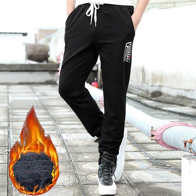 2016 new fashion Autumn winter men pants brand clothing male casual sweatpants trousers warm pants men 8XL
