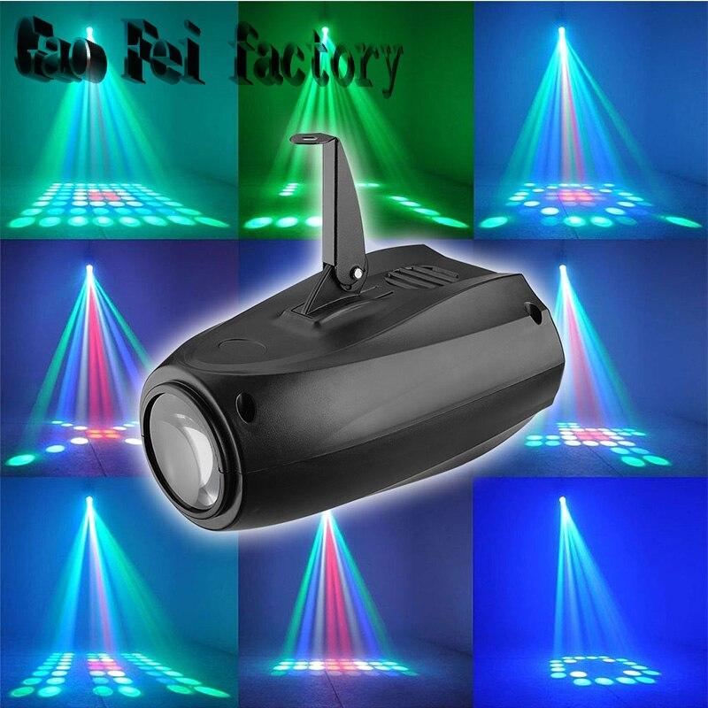 Auto/Sound Active 64 LEDs RGBW Light Disco light Club Party Show Hundreds of Patterns Dj Bar Wedding Stage Party Lights