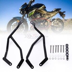 Image 5 - Защита рамы мотоцикла, бампер, передняя защита двигателя, полосы защиты для Kawasaki Z800 2013 2014 2015 2016
