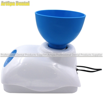 Dental Impression Alginate Mixer Material Mixing with Foot Pedal Control Bowl High Quality