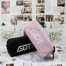 Youpop Proyecto GOT7 JJ Lienzo KPOP K-POP KPOP Joyería Paquete de Admisión Bolsas de Lápiz Caso Cosmético Kits de Papelería Estudiante