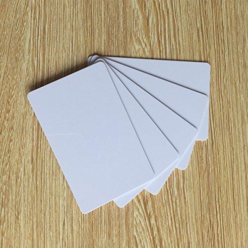 20pcs RFID blank card Writable Rewrite 125KHZ T5577 Smart Tag Proximity Access card for door lock system 1pcs lot em4305 rfid tag blank card thin pvc card read and write writable readable rfid 125khz smart card