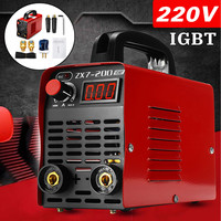 New 220V 10 200A 4000W Handheld Mini MMA IGBT Inverter Mini Electric ARC Welding Welder Machine Tool