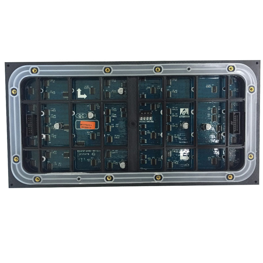 Outdoor P5 Full Color Led Module 320x160mm 64x32 Pixel 1/8 Scan SMD2727 Rgb Panel For Led Display Screen