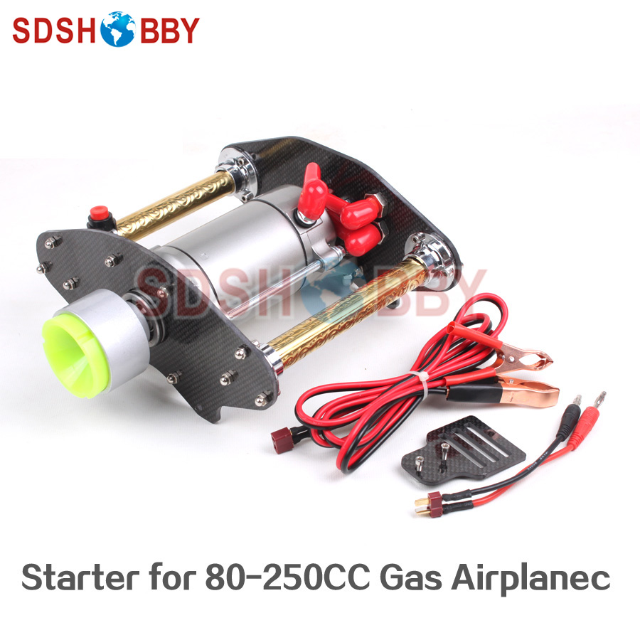New Version Terminator Starter for 80CC-250CC Gas Airplane 1280004960 1280007810 53005984 new starter for dodge
