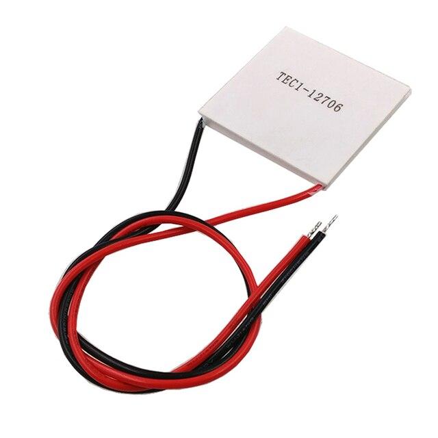60 teile/los TEC1 12705/TEC1 12706 EC Thermoelektrische Kühler Peltier 12V Neue von semiconductor kälte TEC1 12706 (eine box)