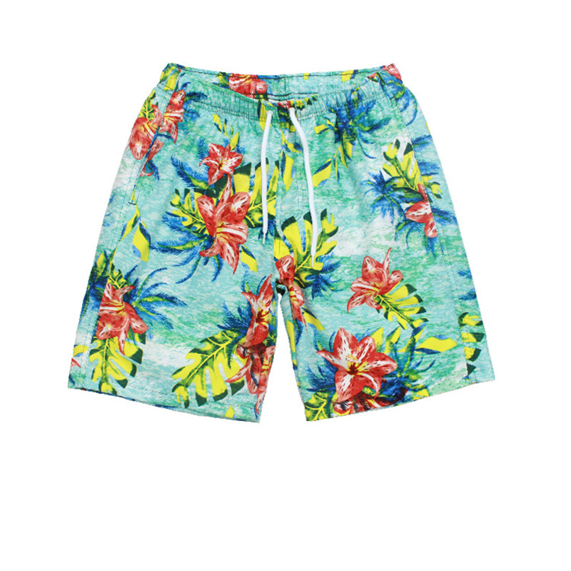 2019 New   Shorts   Men Hot Sale Casual Beach   Shorts   Printing Bottoms Elastic Waist Fashion Men Cotton   Board     shorts   Plus Size 2XL