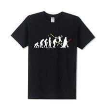 2017 Summer New Design Human Evolution T-Shirt Print Star Trek T Shirt Men Fashion Casual Tops Tshirt Short Sleeve Tee Shirts