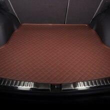 Customize Car Trunk Mat Golf 7 VW Passat Santana Suitcase Lavida Tiguan Touareg CC Beetle Polo Bora Jetta Phaeton Touran Pad Rug недорого