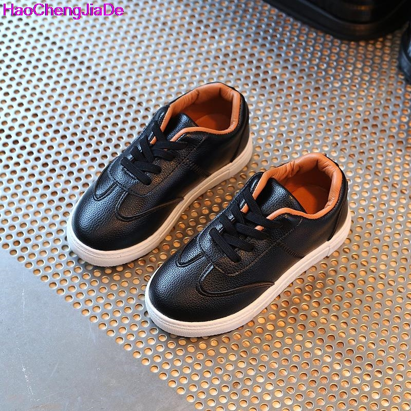 HaoChengJiaDe Kids Sneakers Breathable Brand Boys Sneakers Girls Sport Shoes Child Rubber Leisure Trainers Casual Children Shoes