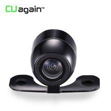 CUagain 003 DVR HD Night Vision Back Camera For Car IP67 Waterproof back Cam for Dual Lens Car DVR 4 Pin Video Driving Recorder