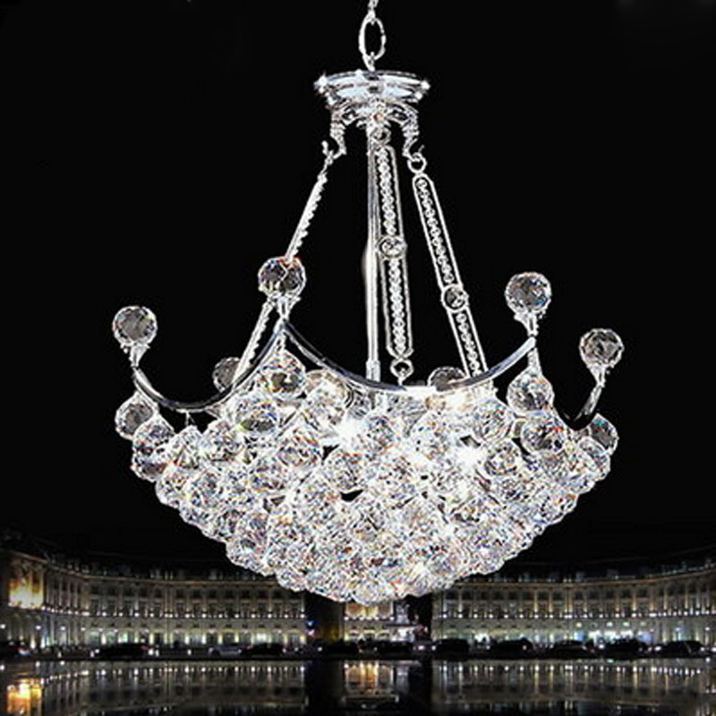 T Luxury European Style Crystal Pendant Light Creative Fashion Modern Lamps For Living Room Bedroom Home Lighting DHL Free furnishings brief modern k9 crystal flower pendant light fixture european fashion home deco living room diy glass pendant lamp
