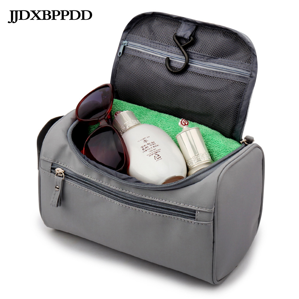 JJDXBPPDD Men Hanging Toiletry Bag Nylon Travel Organizer Cosmetic Bag For Women Large Necessaries Make Up Case Wash Makeup Bag ladsoul 2018 women multifunction makeup organizer bag cosmetic bags large travel storage make up wash lm2136 g