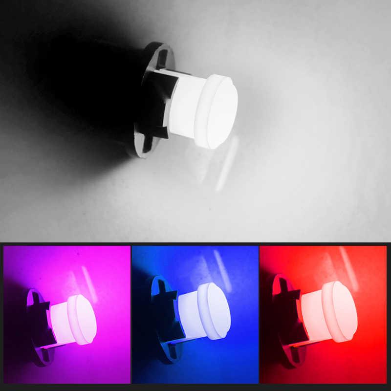 10pcs T10 194 W5W LED Car Parking Light 501 WY5W 1 COB LED Wedge Interior Dome Lamp Auto Turn Side Bulbs License Plate bulbs 12V