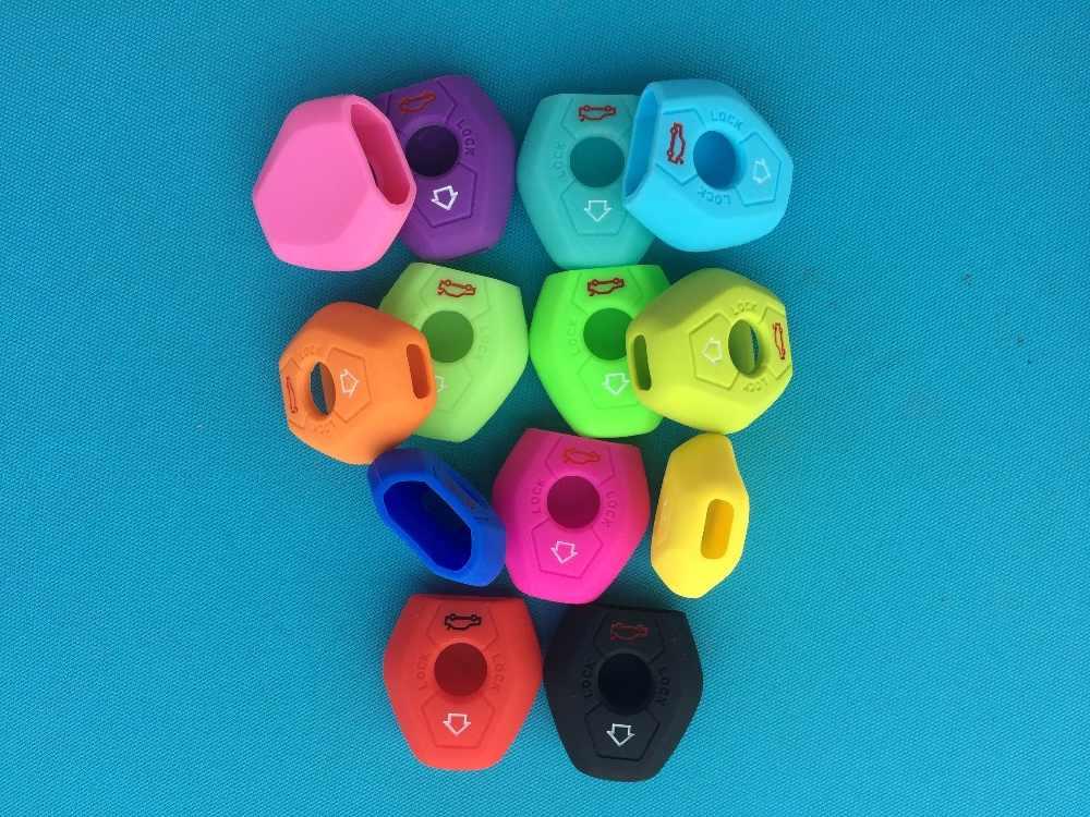 3 boutons À Distance housse de clefs en silicone de Style de Voiture Pour BMW X3 X5 Z3 Z4 3 5 7 Série E38 E39 E46 E83 FOB Ensemble De Protection