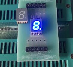 10 шт. Новый и оригинальный SMD 1 бит 0,2 дюйма цифровая трубка светодиодный дисплей синий светильник 7 сегментов общий Cahtode/анод light light blue light ledlight led light   АлиЭкспресс